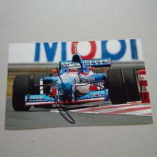 GERHARD BERGER signed Autogramm 12x19 Foto Formel 1 210 Rennen