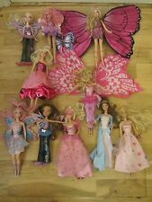 10 BARBIE BRATZ DOLL JOB LOT PRINCE & THE PAUPER SINGING ERIKA ANNELEISE MERMAID