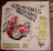 Vintage Cartoon Warning