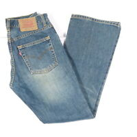Levi's Levis Jeans 525 W29 L32 blau stonewashed 29/32 Bootcut -RH890