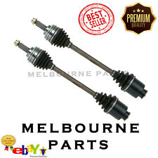 2 NEW FRONT CV JOINT DRIVE SHAFT TO SUIT SUBARU WRX IMPREZA 10/99-02 ABS (PAIR)