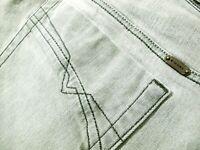 *HOT Men's DIESEL @ IAKOP Art 807D Slim TAPERED GREY STRETCH Denim Jeans 33 x 34