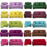 Easy Fit Stretch 1 2 3 4 Seater Soft Couch Sofa Lounge Slipcover Covers Recliner