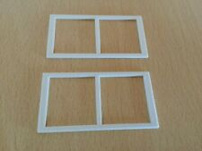 SYLVANIAN FAMILIES REPLACEMENT SPARES THE GRAND REGENCY HOTEL SASH WINDOWS X 2