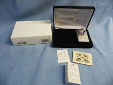 ZIPPO LIGHTER PEARL HARBOR 60th ANNIVERSARY LIMITED 24KT GOLD/SILVER PLATED IOB!