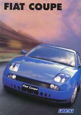 FIAT - Coupe 20v/Turbo - Original 1996 UK sales brochure