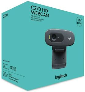Logitech C270 Plug and play Full HD FHD 720p Webcam - Brand New Sealed
