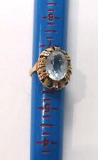 Estate Jewelry 14k Yellow Gold Oval Quartz Elegant Ring