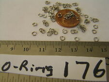 72 Vtg 3 mm Silver Sturdy 23 Gage Jump O Ring Jewelry Findings Repair Craft Lot