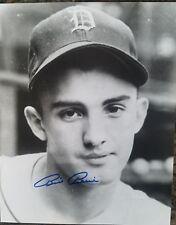 Bill Billy Pierce 8x10 1945 World Series Detroit Tigers Autographed 8x10