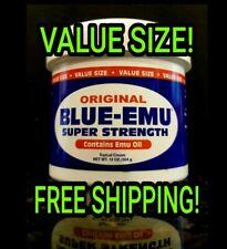 BLUE-EMU Maximum Strength!! Topical Pain Relief ODORLESS Cream LARGE 12oz  NEW!