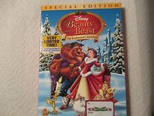 Beauty & the Beast: The Enchanted Christmas (DVD,Special Ed,2011) Genuine Disney