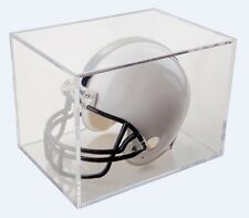 Football Mini-Helmet Clear Display Box Holder Case BallQube NEW