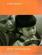 ED209 Child Development Study Guide 3 (Open University 2005)