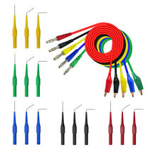 5 Colors SG Test Tool Aid 23500 Back Probe Kit Identified Probe Universal 30V 1A