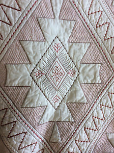 MARTHA STEWART CANYONLANDS QUILTED STANDARD SHAM MSRP $70 NEW IN OPENED PACKAGE