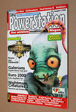 PowerStation Playstaion Magazin Ausgabe 4/2000 Oddworld Final Fantasy