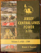 MORNING SUN BOOKS - JERSEY CENTRAL LINES POWER In Color Volume 1 - HC 128 Pages