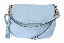 Michael Kors - Women's Bag - Blue Bedford Pebbled Leather Shoulder Bag