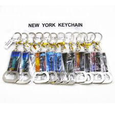 12PCS US Souvenir NYC Landmark Key Chain Bottle Opener Convenient Gadget N030