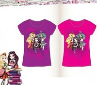 t shirt enfant Ever After High 100% coton,Tee shirt fille,Ever After High 2/8ans