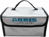 ARRIS RC Lipo Battery Safety Bag 215 x 160 x 115mm Fireproof Explosionproof