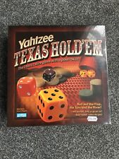 Yahtzee - Texas Hold'em - Dice/Poker Game - Checked & Complete New Bnib Parker