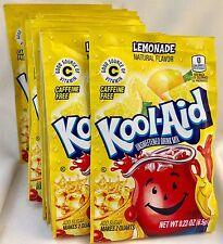 25 Lemonade Kool-Aid Drink Mix Gluten Free Unsweetened Exp 2019