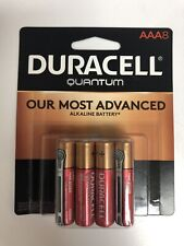 8 Duracell Quantum AAA Batteries 8 pack Expires 2028