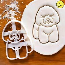 Bichon Frise cookie cutter | cute dog dogs biscuit treats adoption rescue vet