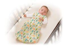 New Baby SwaddleMe Slumbersack Sleep Sack Sleeveless Medium 16 to 26 lbs Safari