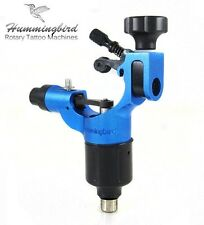 HUMMINGBIRD Aluminum Rotary Tattoo Machine RCA Liner Shader Supply Ink (BLUE)