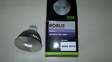 5 X Lámpara Robus 3 W MR16 LED blanco frío 38 ° ángulo de haz