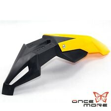 Universal Front Fender Mudguard Motocross For Suzuki DRZ RM RMZ Supermoto Yellow