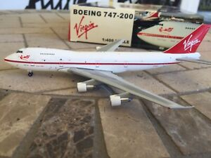 Virgin Atlantic 747-200 1:400 Scale 1984 Livery