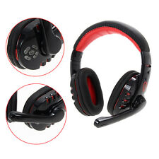 Bluetooth Wireless Gaming Headset Earphone Headphone For Tablet Cellphone PC