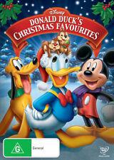 DONALD DUCK'S Christmas Favourites DVD CHRISTMAS MOVIES WALT DISNEY BRAND NEW R4