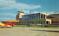 Postcard St. Joseph County Airport Terminal Bldg in South Bend, Indiana~125329