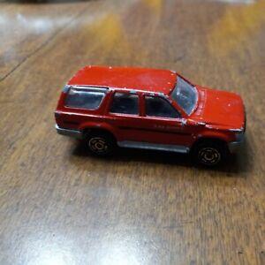 Majorette Movers 276 Toyota Runner Red Die Cast Metal 200 Series