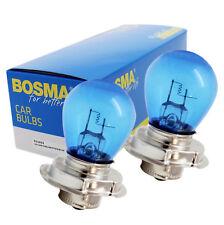 2 x Lampe Birne Bosma P26s 12V 25W S3 Krypton Blau Premium für Scheinwerfer etc.