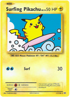 Surfing Pikachu - Evolutions - Secret  Rare - Pokemon - 111/108 - Near Mint
