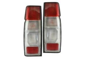 Tail Lights to Suit Nissan Navara 92-05 D21 D22 Ute D22 Hook Tailgate