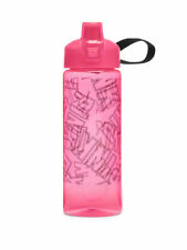Victoria's Secret PINK Collegiate Water Bottle 32 oz. LOGO Font FAST SHIP!! NWT