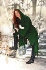 Gothic Mittelalter Kleid Kapuze Zipfelkleid Hexe Wicca