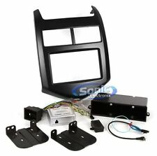 SCOSCHE Single/Double DIN Dash Install Kit for 2012-Up Chevy Sonic | GM5204B