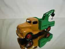 DINKY TOYS COMMER RECOVERY TRUCK - DINKY SERVICE - BROWN 1:43? - GOOD CONDITION