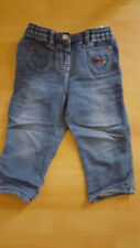 Ergee Mädchen Jeanshose 80 blau Baumwollmischung sehr gut erhalten