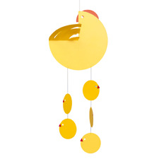 Chick-Hen Flensted Modern Danish Decor Hanging Mobile