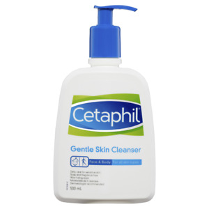 Cetaphil Gentle Skin Cleanser 500mL Pump Sensitive Skin Fragrance Free