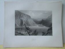 Vintage Print,LUGGELAW,Scenery of Ireland,Bartlett